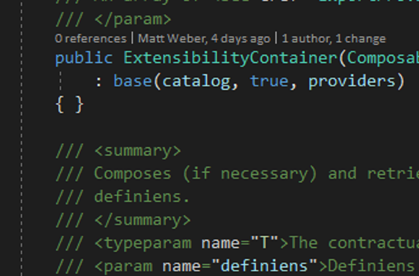 Some code, zoomed in. Fancy.