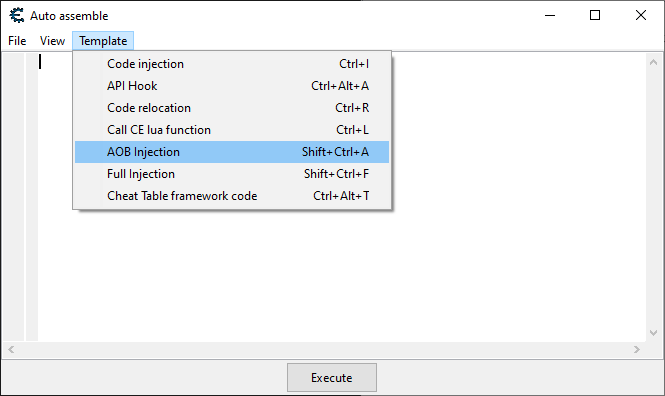 Shows how to do an AOB injection in Cheat Engine.